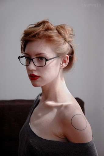 small shoulder tattoos