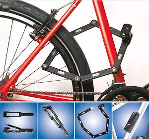 Abus Bordo Locks - The versatilite like a cable lock, secure like a U-Lock and compact to carry on the bike - $140