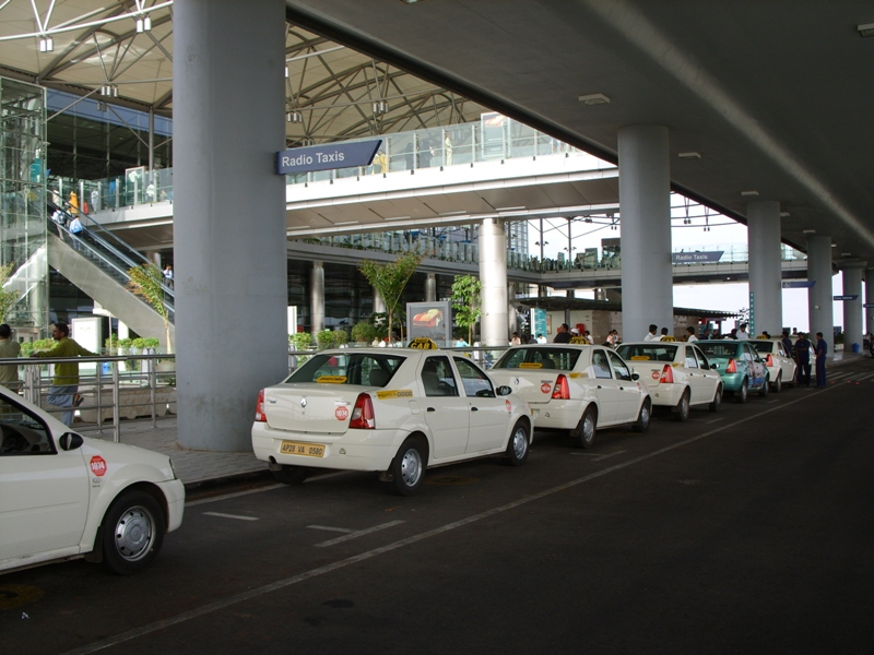 uber cabs at Hyderabad airport