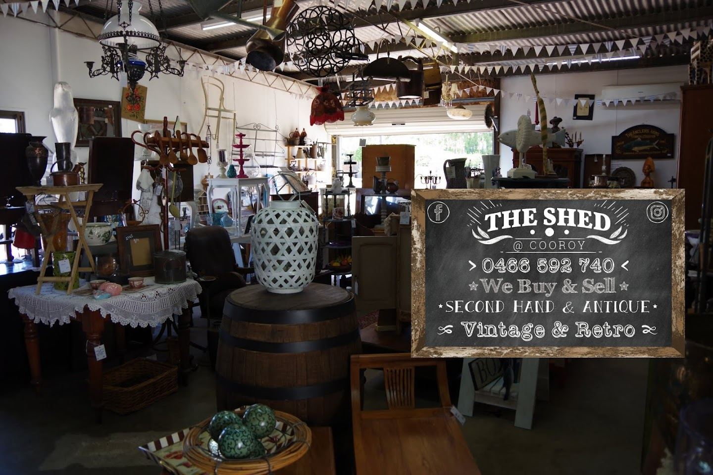Second Hand Furniture Sydney Pick Up The Shed Cooroy Antiques Vintage Secondhand Shop In Cooroy