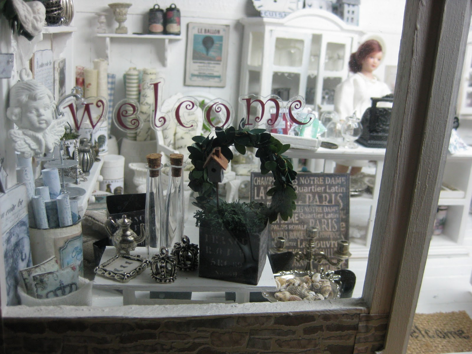 Shabby Chic Shop Miniatyrmama: The Shabby Chic Shop