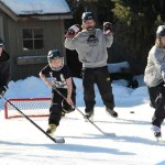 Home and Living: Get A Jump On The Season With Your Own Hockey Rink