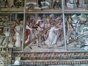 Frescos in Notre Dame des Fontaines