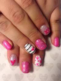 Top 100 lovely Ideas to Have Valentines Day - Nails Art ...