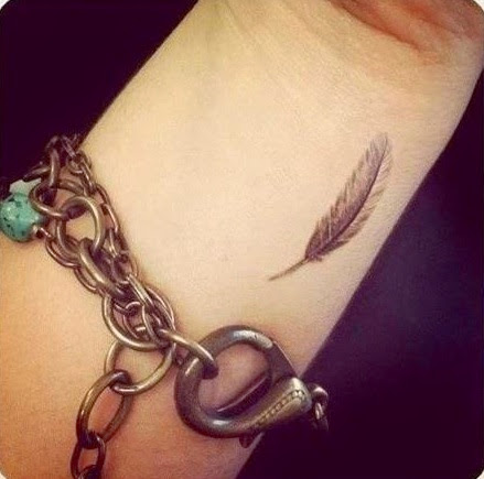 Feather tattoos
