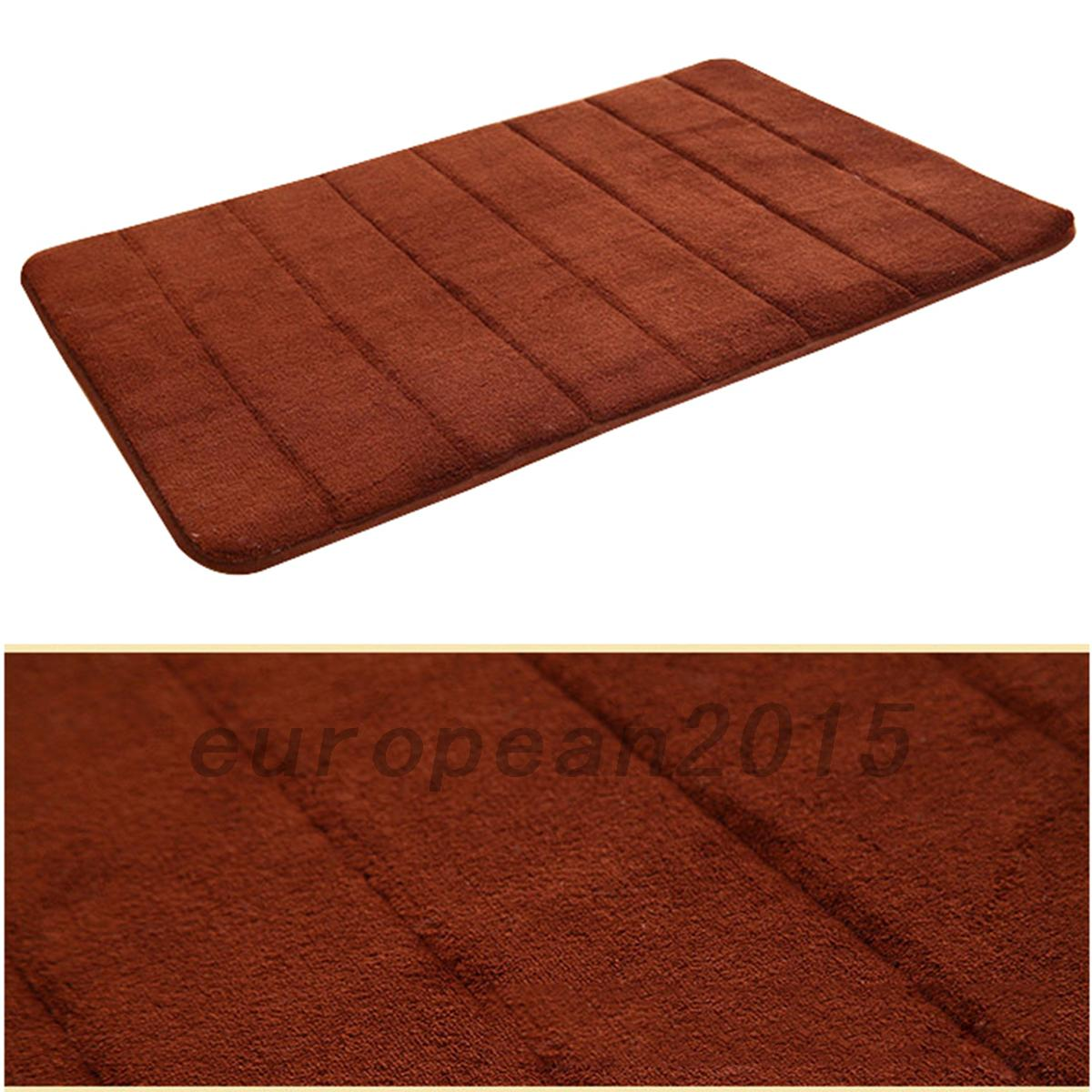 Non Slip Bathroom Mats High Quality Soft Memory Foam Bath Bathroom Floor Shower