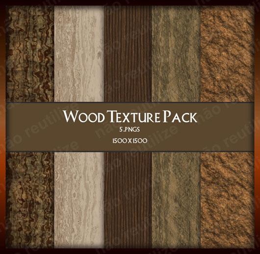 texturas madeira pacote com cinco download