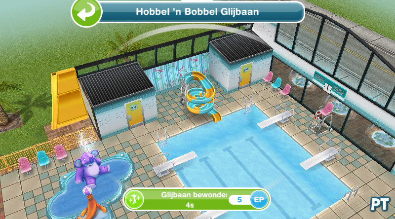 Sims Freeplay Zwembad In De Tuin In De Zwemstemming - De Sims Freeplay Walkthrough