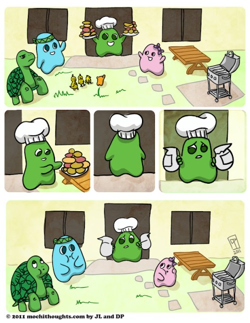 cute comic, Barbeque Memorial Day