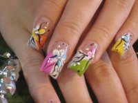Acrylic nails art designs 2016 trends - Styles 7
