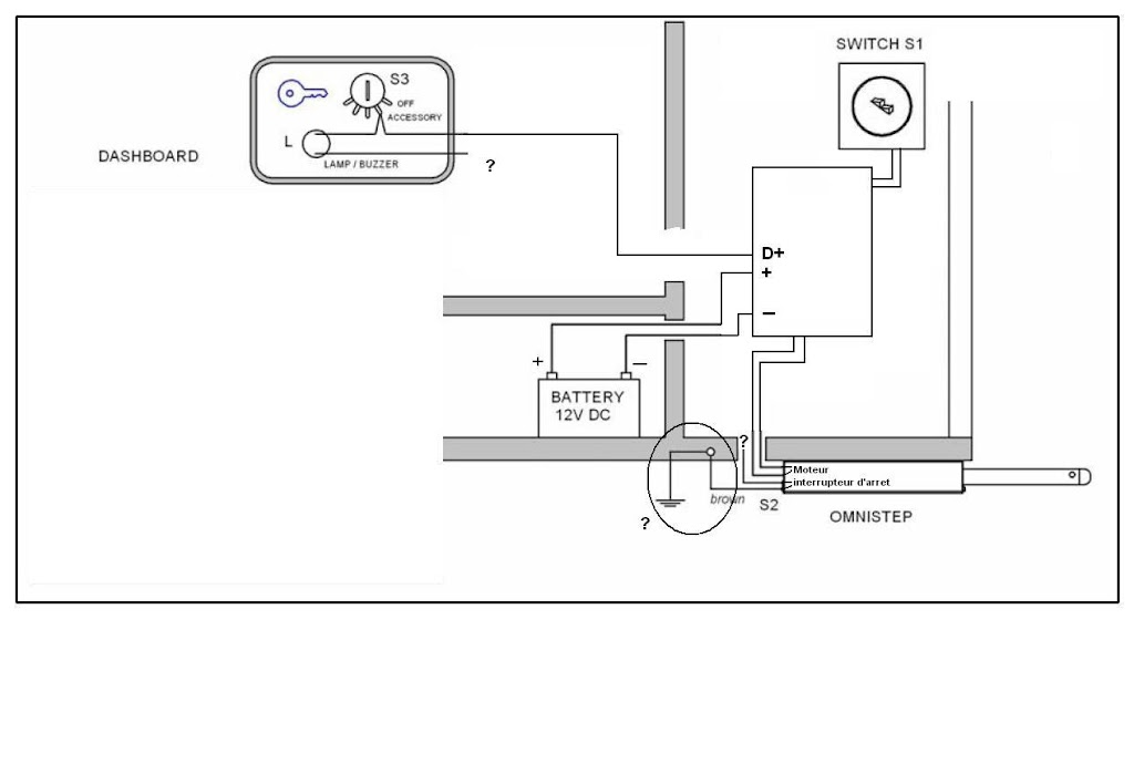inline switch schema cablage