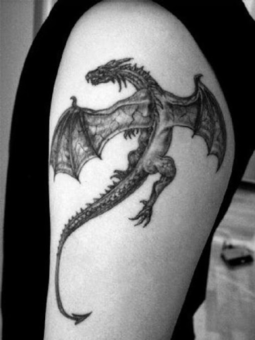 awesome dragon tattoos for men
