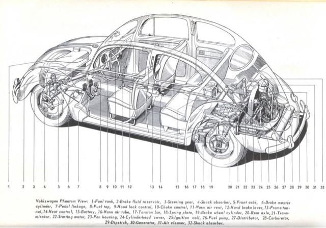 vw 20 engine diagram
