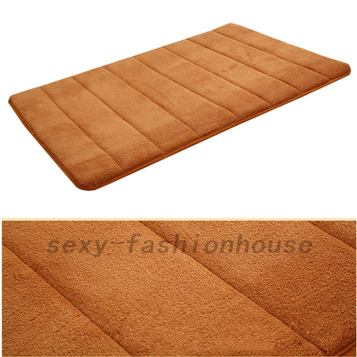 Non Slip Bathroom Mats Memory Foam Non Slip Floor Mats Bath Shower Carpet