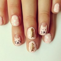 Cool Hello Kitty Nail Art Ideas For 2017 - Styles Art