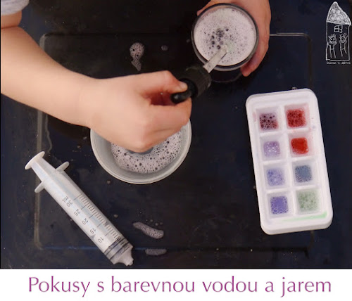 Pokusy pro malé děti