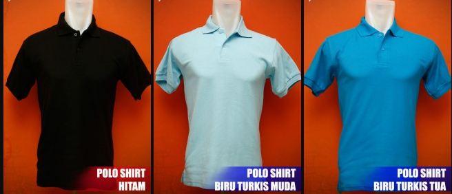 grosir kaos kerah / polo shirt polos
