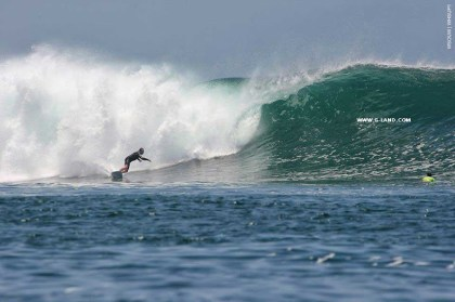 G-Land Surf Report on October 17, 2015