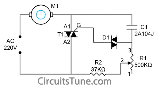 fan regulator circuit diagram fanregulator