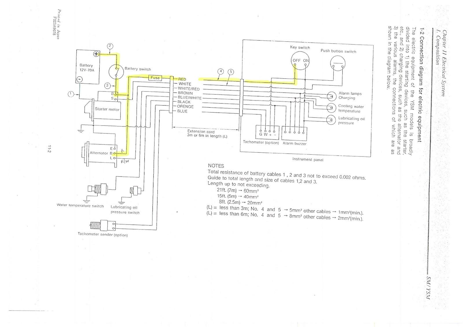 140 amp 3 wire alternator diagram