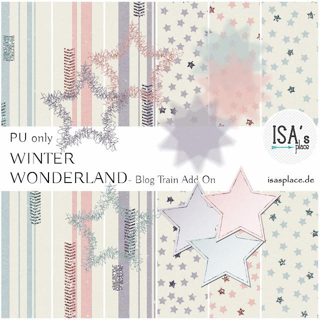 Blog Train Winter Wonderland Add On