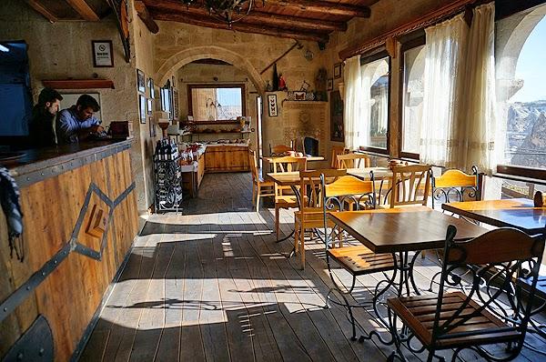 Kelebek Cave Hotel's Dining Room