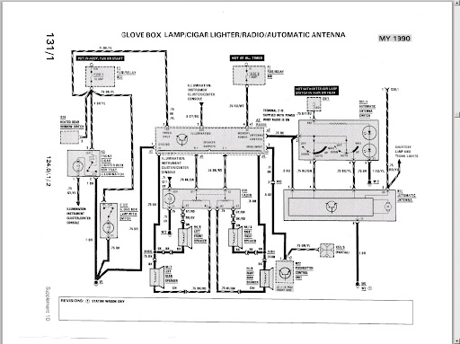 1990 mercedes 300e engine diagram