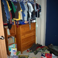 Boy's Room Spring Cleaning and Organization 2011
