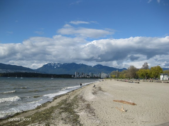 One of the great things to do in Vancouver: Kitsilano Beach