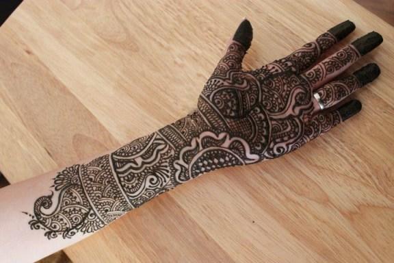 bridal mehandi designs
