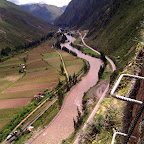 The Urubamba river, Sacred Valley, Peru