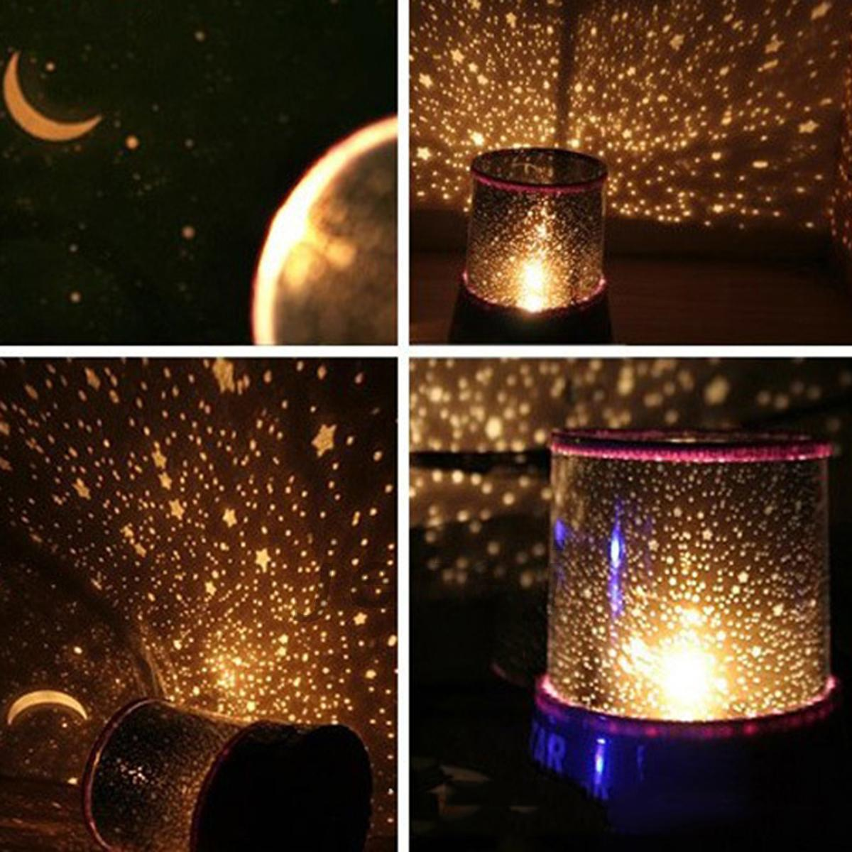 Kids Star Night Lights Led Starry Night Sky Projector Lamp Star Night Light