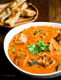 Rustic Tomato Rice Kale Stew. Comfort Soup. Oil-free ...