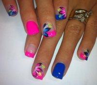summer nail art design from instagram - Styles 7