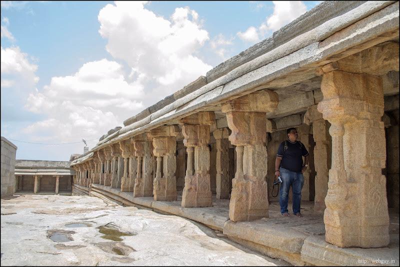 Inside the Temple compound - Lepakshi