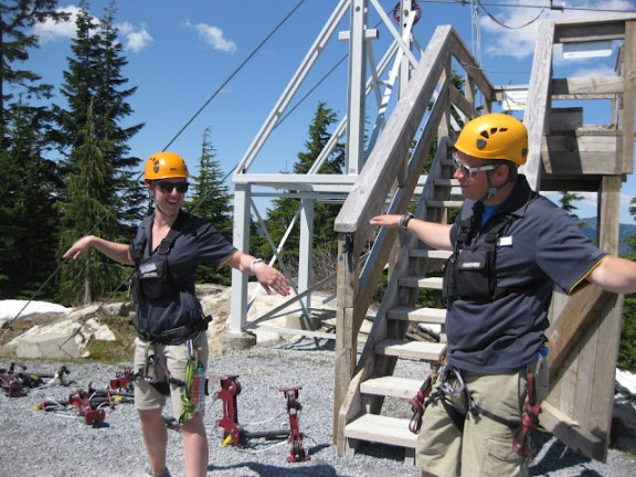 Grouse Mountain Ziplines, Vancouver