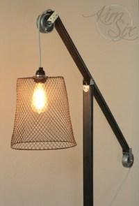 Diy Pulley Desk Lamp - DIY Design Ideas