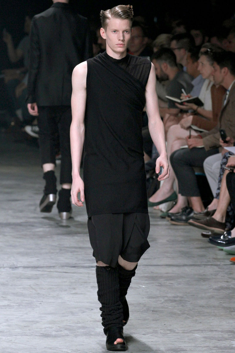 Falling In Love Coute Que Coute: Rick Owens Spring/summer 2013 Men's
