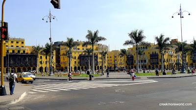 The Plaza mayor, Lima.