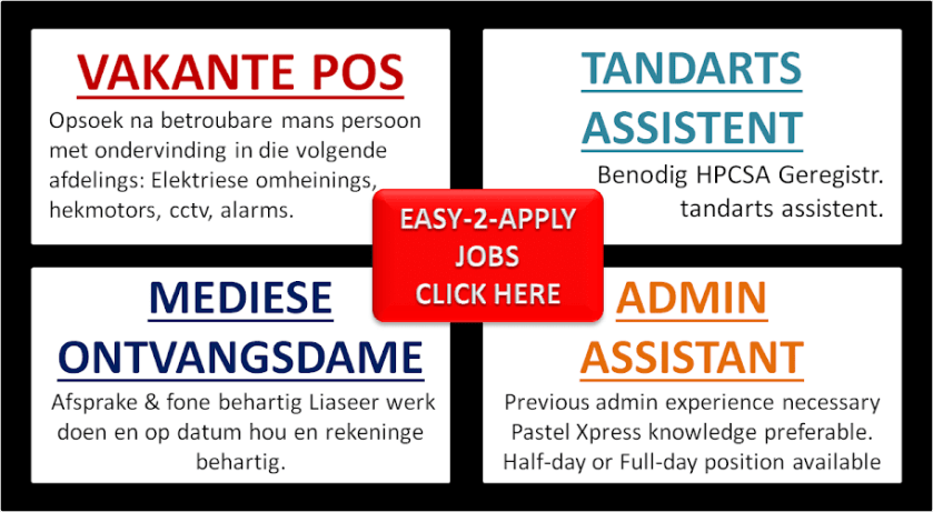 Easy-2-Apply Jobs
