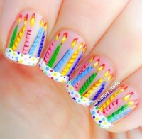 Stylish Nail Art Ideas For Happy Birthday ( A second part ...