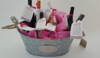 Bridal Shower Gift DIY to Try: A Basket of Firsts for