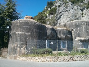 Maginot fort at Ste Agnes