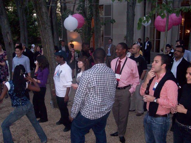 IVLP 2010 - Hands-on Work, Crazy Dancing - 100_0533.JPG