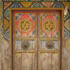 Prayer wheel house, Daocheng, Sichuan.