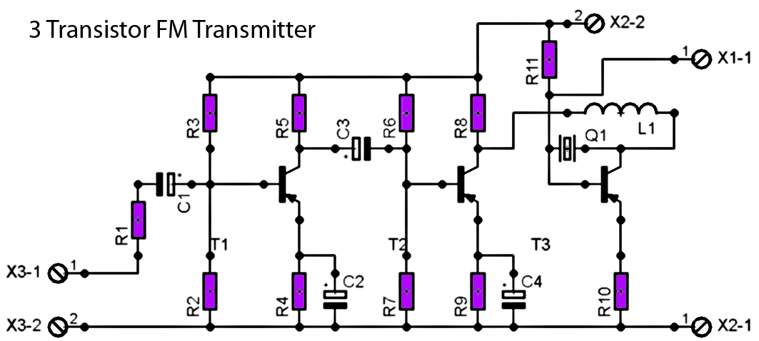 fm transmitter with 2n2222