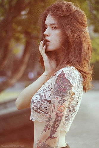 cute girl pictures with tattoos