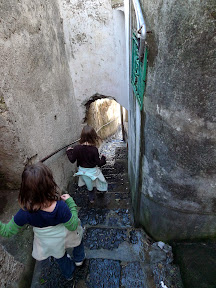 Tiny passageways seem built for 7 and 9-year-olds