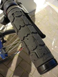 ODI Ruffian lock-on grips. Top notch rubber.