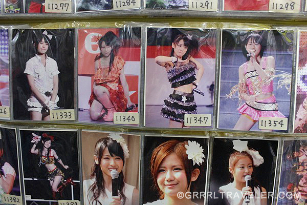 jrock cards, japan rock collectibles